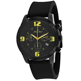 Mathey Tissot Men's Classic Black Dial Watch - H511CHJB