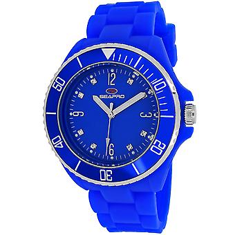 Seapro Frauen's Sea Bubble Blue Dial Uhr - SP7414