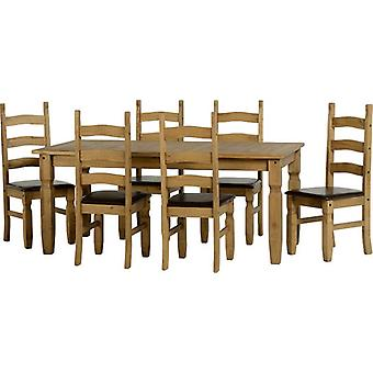 Corona 6' Set de Comida - Dwp/Brown Pu