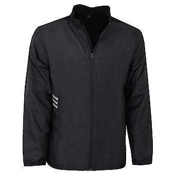 adidas Mens Essentials FZ Windproof Water Resistant Jacket