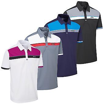Stuburt Mens Urban Response Breathable Moisture Wicking DRI-Back Polo Shirt