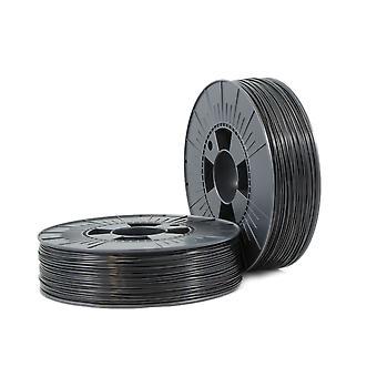 PLA 1,75mm fekete ca. RAL 9017 0,75kg - 3D filament kellékek