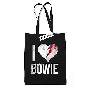 David Bowie I Love Bowie tote bag