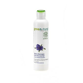 Greenatural 2in1 Gentle Shower Gel & Shampoo Flax & Rice