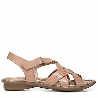 Naturalizer Womens Wyla Open Toe Casual Slingback Sandals
