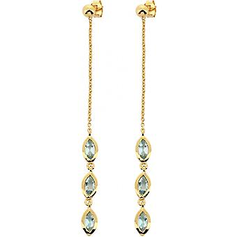 Kira Dor earrings - Topaz