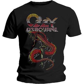Ozzy Osbourne Cobra Dagger camiseta oficial de Black Sabbath