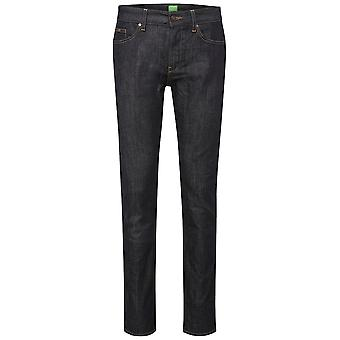 Hugo Boss 50293763 C-delaware 1 Denim Slim Fit Dark Washed Jeans