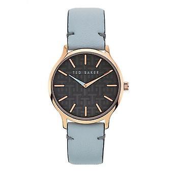 Ted Baker BKPPOF901 Women's Poppiey Blue Strap Wristwatch