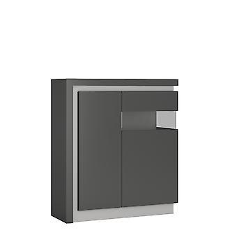 Brooklyn Dusk 2 Door Cabinet (inc. Led Lighting)