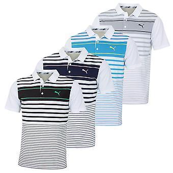 Puma Golf Mens Spotlight Vocht Wicking DryCell UPF40 Polo Shirt
