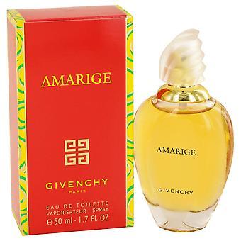 AMARIGE av Givenchy Eau De Toilette Spray 1,7 oz/50 ml (kvinner)