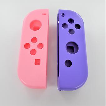 Replacement housing shell left & right for nintendo switch joy con controllers - pink & purple | zedlabz