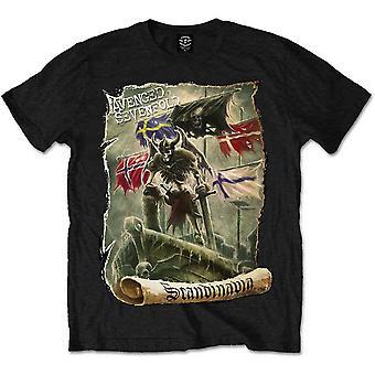 Avenged Sevenfold A7X Scandinavia Official Tee T-Shirt Mens Unisex