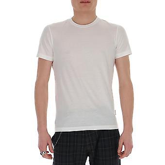 Ballantyne Qmw065uctj610156 Men's White Cotton T-shirt