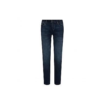 Hugo Boss Charlestone4 ekstra slank passform mørk blå jeans