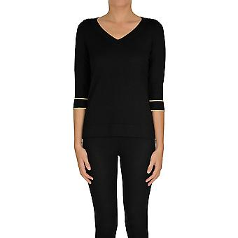 Alessandro Ezgl333017 Women's Black Viscose Sweater