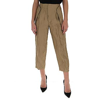 Gentry Portofino D315mag0114 Women's Beige Cotton Pants