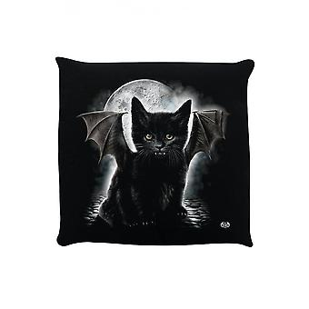 Gotic Homeware Bat Cat pernă