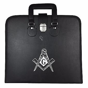 Masonic regalia mm/wm square compass g apron cases