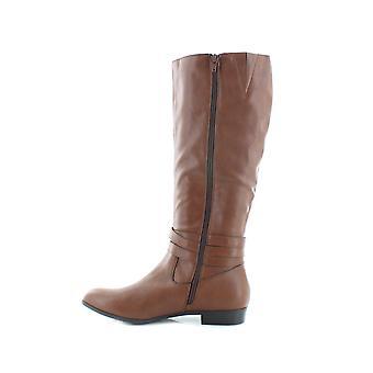 Stil & Co kvinner Keppur bred kalv ridning støvler brun 6 medium (B, M)