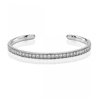 Sif Jacob's Bracelet Simeri Bangle Silver Collection SJ-BG004-CZ