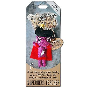 Watchover Voodoo Dolls Superhero Teacher Voodoo Keyring