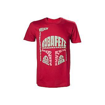 Star Wars - Boba Fett Word Play Men's T-Shirt