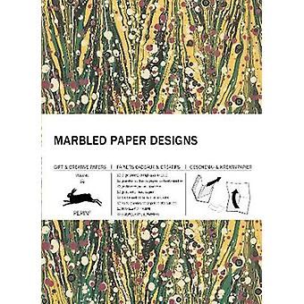 Marbled Paper Designs - Gift & Creative Paper Book Vol 102 by Pepi