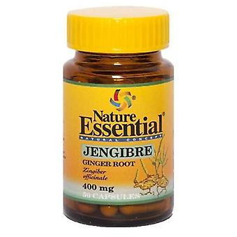 Nature Essential Ginger 400 Mg50 Capsules