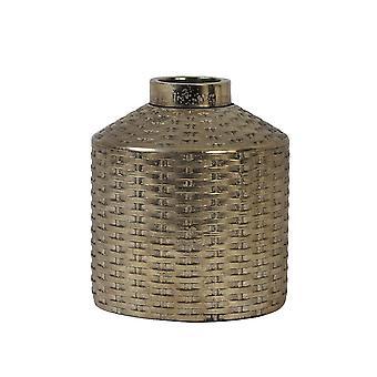 Ljus & Levande Vas Deco 20x22.5cm Wick Keramik Brons