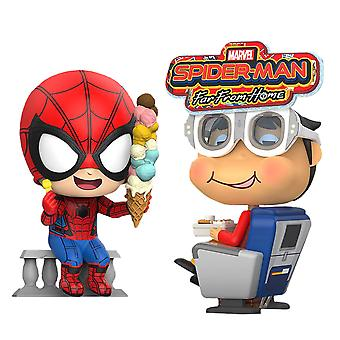 Spider-Man Far From Home Spider-Man & Movbi Cosbaby Set