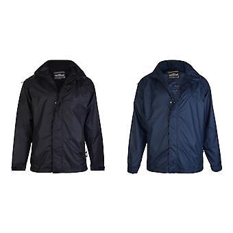 Kam Jeanswear Mens Waterproof Rain Coat