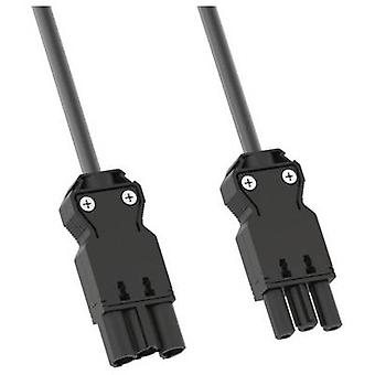 Bachmann 305.180 Current Mains cable Black 1.00 m