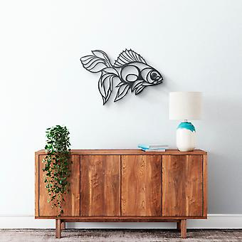 Metal Wall Art - Golden Fish