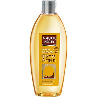 Naturlig Honey Body olje Elixir de Argan 300 ml