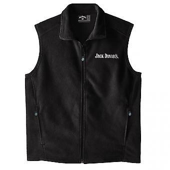 Jack Daniel's Logo Fleece Vest