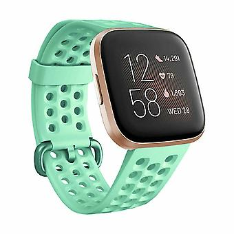 Replacement Strap Bracelet Silicone Band for Fitbit Versa 2/Versa Lite/Versa[Large Fits Wrist 7.1