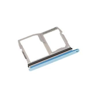 Replacement Sim Micro SD Card Holder Slot Tray Blue for LG G6 H870