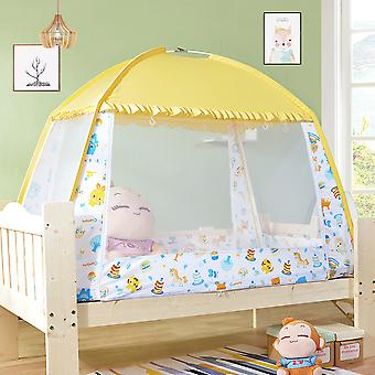 YANGFAN Yurt Mosquito Net Fairy Tale House For Child Multi-size