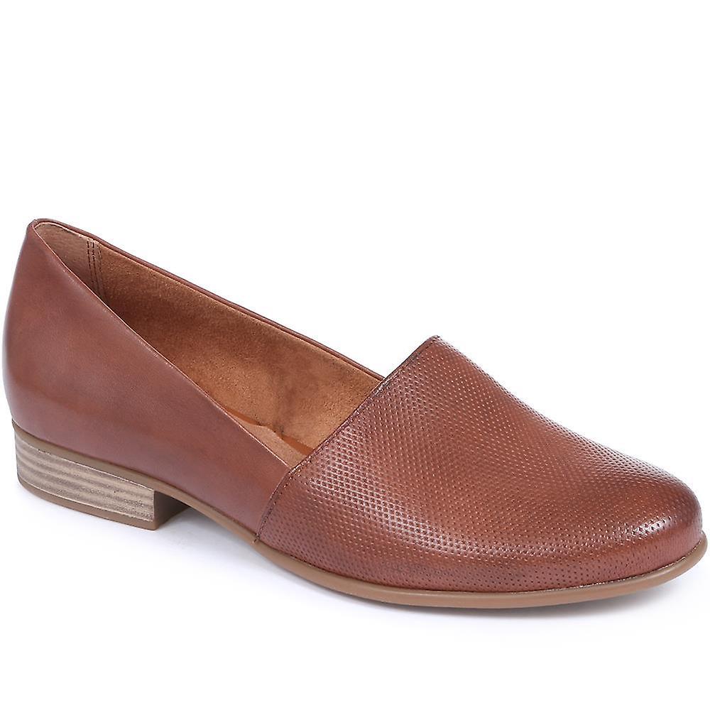 Tamaris Leather Loafer qtbgp