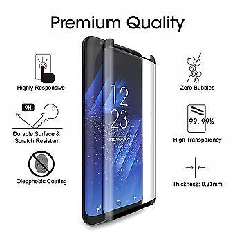2 Pack Samsung Galaxy S8 - Gehärtetes Glas Bildschirm Schutz