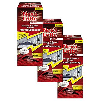 Sparset: 3 x NEXA LOTTE® Ultra Mosquito & Gelsen plug refill pack, 20 pieces