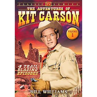 Äventyr av Kit Carson: Vol. 1 [DVD] USA import