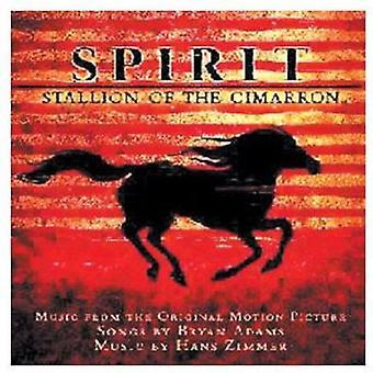 Adams/Zimmer - geest: Hengst van Cimarron [CD] USA invoer
