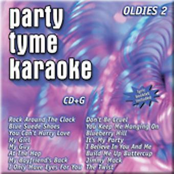 Party Tyme Karaoke - Party Tyme Karaoke: Vol. 2-Oldies [CD] USA import