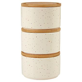 Fenwick Wilder Set of 3 Stackable Canisters