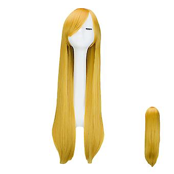 YANGFAN Full Wig Long Straight Cosplay Wig