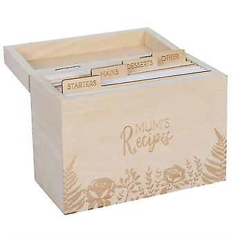 Something Different Mums Recipe Card Box