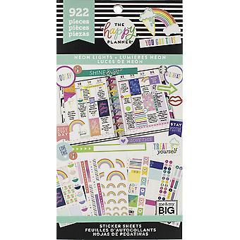 Gelukkig planner sticker Value Pack-neon lichten, 922/pkg